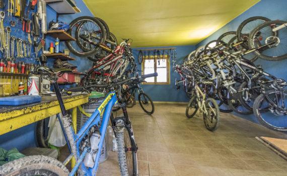 Bike Werkstatt auf Le Canne