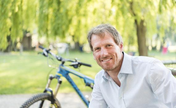 Steffen Bikeguide auf Le Canne
