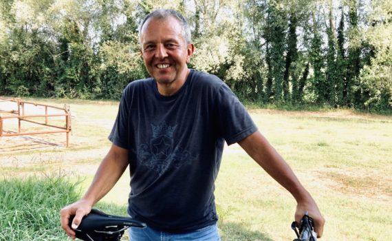 David ist ein Bikeguide auf Le Canne